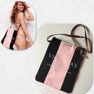 Victoria's Secret Canvas Cross Body Bag